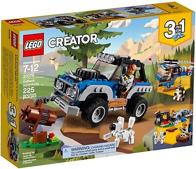 LEGO 31075 - Creator 3 in 1 Outback Adventures (225 pieces) - New in sealed box