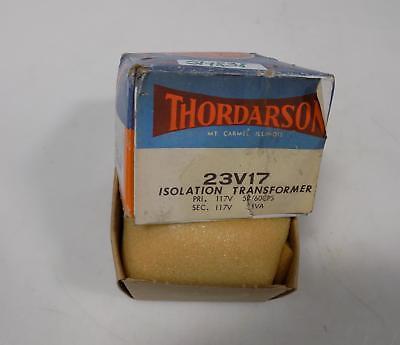 Thordarson 117v-35va Isolation Transformer 23v17 Nib