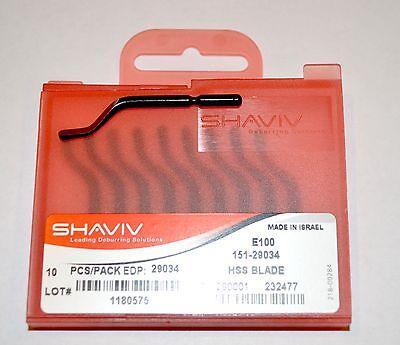 Shaviv E100 Cutter Deburring Blade 151-29034 Or 29034