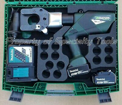 Greenlee Gator Esg55lx Acsr Guy Wire Ground Rod Rebar Cutter Esg55 Cutting Tool