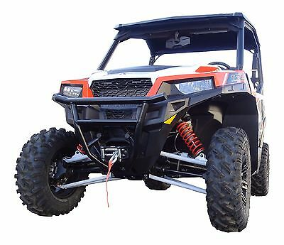 Mudbusters Front   Rear Mud Flap Fender Extensions For Polaris General 1000