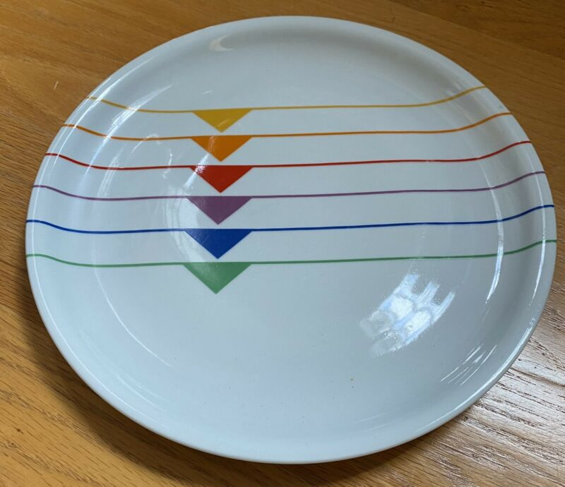 "Block SEXTET 10 5/8"" Dinner Plate   ONLY ONE!!"