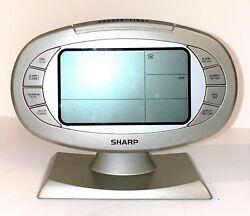 RARE Vintage Sharp Digital Alarm Clock SPC315 Battery Operated - Fast Shipping!