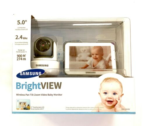 Samsung SEW-3043W Bright VIEW Baby Monitoring System Monitor and Camera
