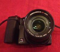 Fotocamera Digitale Bridge Konica Minolta Dimage A200 - Con Box E Accesori - konica minolta - ebay.it