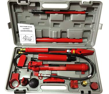 10 Ton Hydraulic Porta Power Jack Kit Body Frame Panel Beating Beenleigh Logan Area Preview