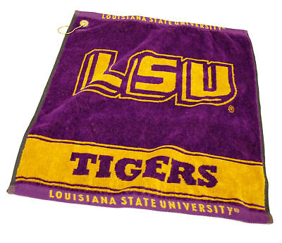 - LSU Tigers Golf Bag Towel - Officially Licensed - Club Course - Louisiana State