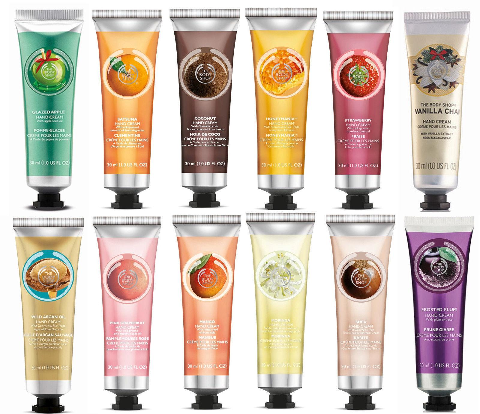 The Body Shop 1 fl.oz. Hand Cream ~ Choose your favorite sce