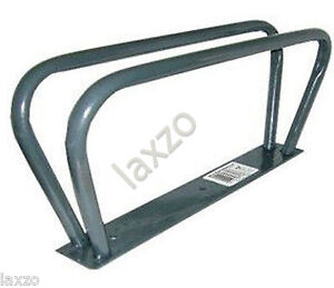 Bicycle-mountain-bike-cycle-floor-wall-mounted-stand-rack-parking-rail-lock