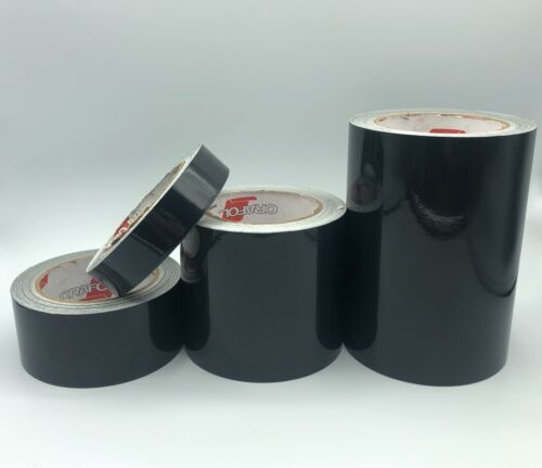 Black Reflective Tape Oralite 5700 Type 1 Flexible Engineer Grade Reflects White