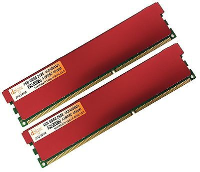 8GB 2x 4GB DDR3 2133MHz PC3-17000 DESKTOP Memory Non ECC 2133 Low Density RAM 8G