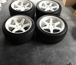 "Varrstoen es2 18"" wheel  5x114.3 RWD car jdm  drift"