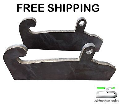 Jrb 417418 Quick Attach Coupler Blank Adapter Mounts Jrb Loader Free Shipping