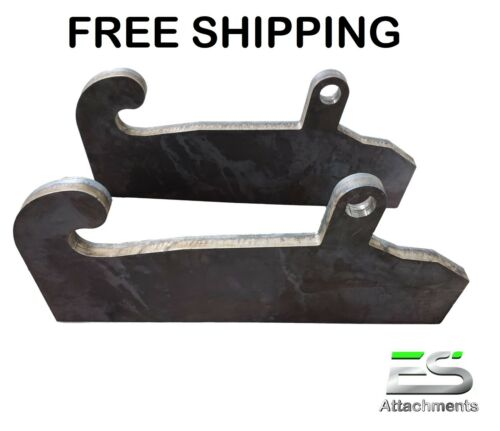 JRB 417/418 Quick Attach Coupler Blank Adapter mounts JRB Loader FREE SHIPPING