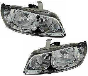 Pair of Headlights for Nissan Pulsar 07/03-01/06 New N16 Sedan Lamps 03 04 05 06