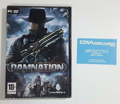 Damnation, Pc dvd Rom. Ed. España. Nuevo a estrenar