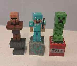 Minecraft figures - perfect for cake decorations. Reedy Creek Gold Coast South Preview