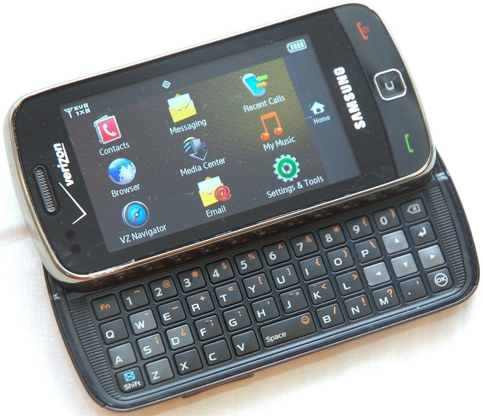 Samsung Rogue SCH U Black Verizon Wireless Touchscreen Cell