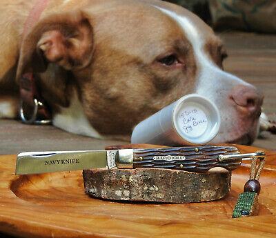 Great Eastern Cutlery 15S115 Navy Knife Cola Jig Bone Tidioute Near Mint