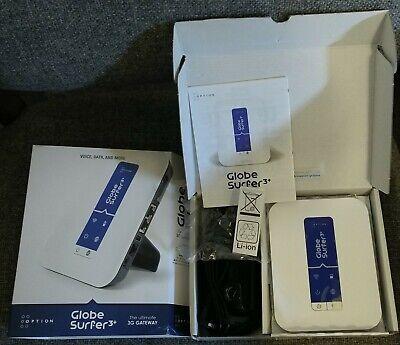 Option GlobeSurfer 3+ III+ Quad Band 3G Gateway SMS Phone Modem Router US Plug