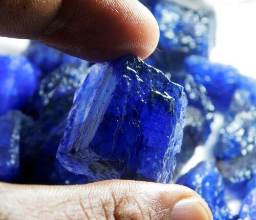 54.00 CT. + Natural Translucent Blue Tanzanite Rough Loose Gemstone