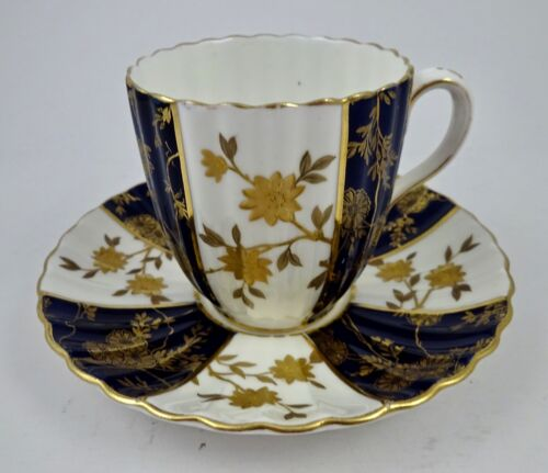 Antique Brownfield Tea Cup & Saucer, Aesthetic Period