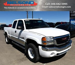 2004 GMC Sierra 2500HD EBONY LEATHER