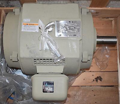 Ge 15hp 5ks284ate305a 3 Ph Electric Motor Energy Saver Premium