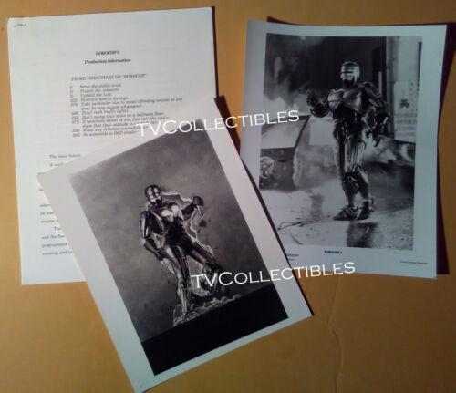 Pressbook + Photo~ ROBOCOP 2 ~1990 ~Peter Weller ~Sc-fi