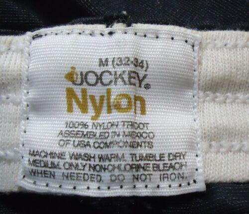 NOS Vtg SHEER Black Nylon Jockey Boxers Briefs Underwear sz M 32/34 No Snaps