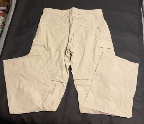 Columbia Omni-wick Convertable Hiking Pants Extra Light Weight Men s W32 X L32 - $16.99