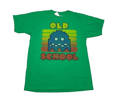 Pacman Old School Atari Retro Vintage Arcade Video Game Mens T Shirt