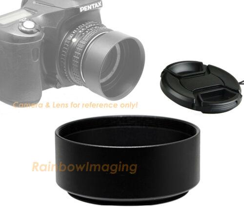 "55mm Metal Screw-in Lens Hood Shade for Standard Lense with 58mm Cap ""US seller"""