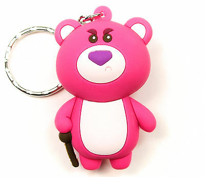 "Disney 3D Figural Keyring Series 6 LOTSO 3"" KEYCHAIN Toy Story Opened Blind Bag"