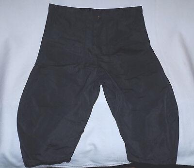 "ANDREA YA'AQOV -100% Nylon Slouched Comfort shorts-Size 32""Waist-Black-Brand New"