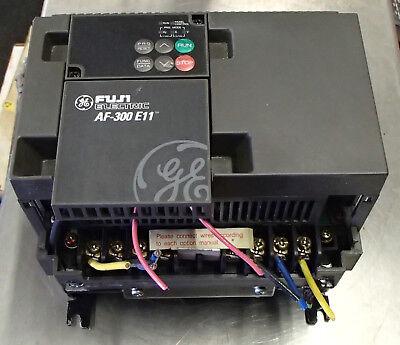 Ge Fuji Af-300 E11 Variable Frequency Drive 5hp 3ph 6ke1143005x1a1 Used Cut Out