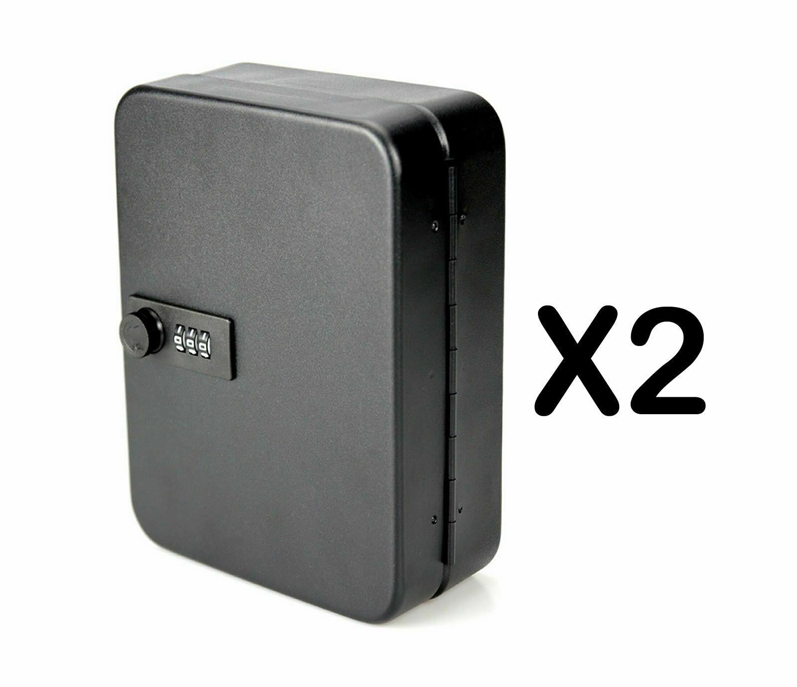COMBINATION KEY BOX SAFE METAL PASSWORD STORAGE CABINET LOCKABLE LOCK 20 TAG
