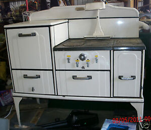 Details about ANTIQUE STOVES-Occiden tal Vintage Wood, Coal or propane