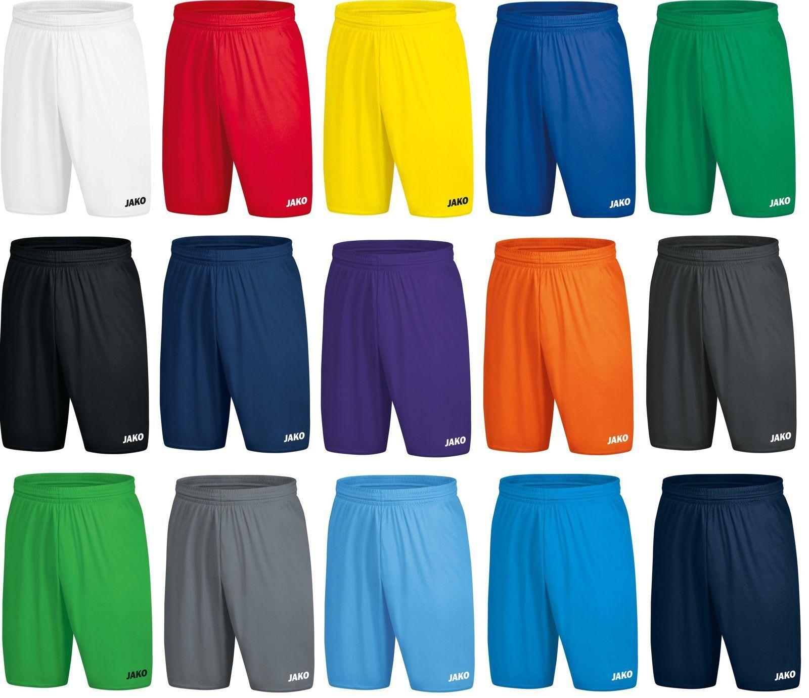 Jako Kinder Sporthose Shorts Short Manchester 2.0 Fußball Gr.104-Gr.164 / 4400