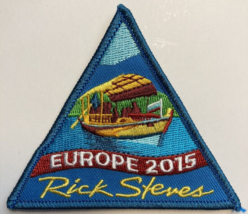 Patch Europe 2015 Rick Steves Travel Collectible Great 4 Backpack