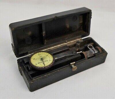 Federal Testmaster Dial Test Indicator Model Jeweled .001 Vintage Tool
