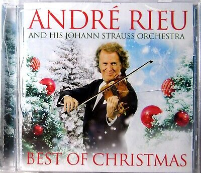 Andre Rieu & His Johann Strauss Orchestra - BEST OF CHRISTMAS (CD) (Best Classical Christmas Albums)