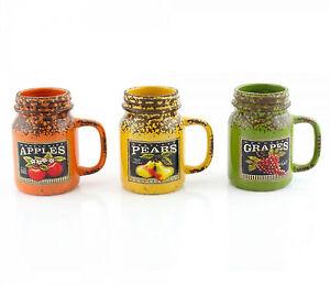 LP27622-Ceramica-Frutta-Barattolo-Di-Vetro-da-Lesser-amp-Pavey