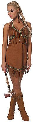 n Indianerin Kostüm NEU - Damen Karneval Fasching Verkleidun (Schnelle Kostüme)
