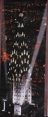 City Lights Giant Decorating Banner, Scene Setter Wall Mural, Theme Party Decor ()