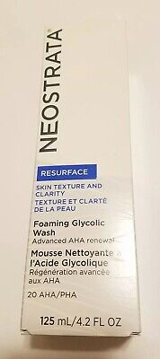 FULL SIZE NeoSTrata Resurface Foaming Glycolic Face Cleanser Wash 125ml 4.2oz ()