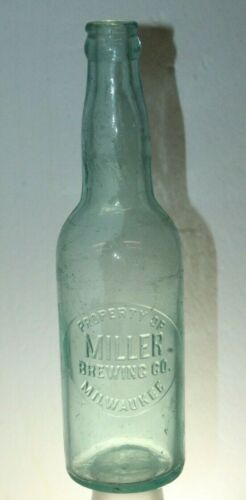 MILLER BREWING CO MILWAUKEE WISCONSIN BEER BOTTLE