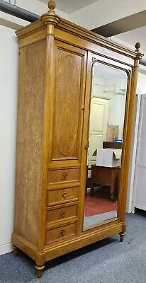 Huge Impressive Antique French Armoire combination Wardrobe
