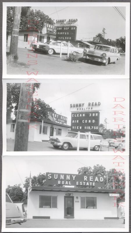 Lot of Vintage Car Photos 1956 & 1961 Chevy 1957 Plymouth Sunny Read 770317