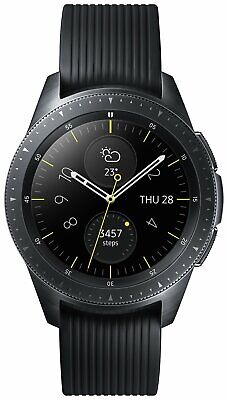 Samsung Galaxy 42mm 4GB WiFi Bluetooth NFC Smart Watch - Midnight Black.
